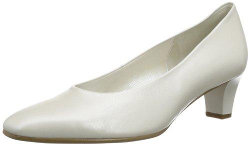 Gabor Shoes Damen Gabor Geschlossen, Weiß (off-white+Absatz), 37 EU