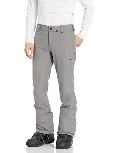 Volcom Men's Klocker Slim Form Fit Snow Pant, Charcoal, Medium