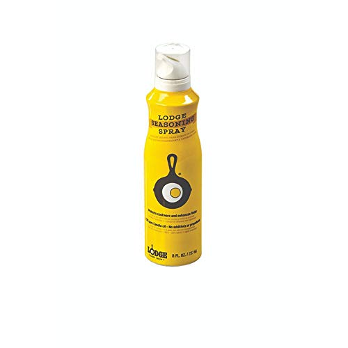 Lodge Seasoning Spray, 8-Ounce ,Yellow