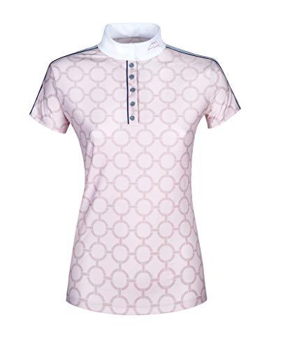 Equiline Belen Frauen Comp Polo-Shirt S/S Rosa FS 2019, Eq19_FS_Gr.:M