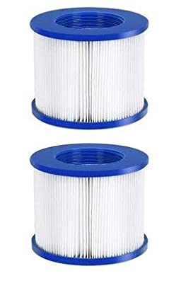 Galvanox (2 Pack) Replacement Spa Filter Cartridge Inflatable Hot Tubs