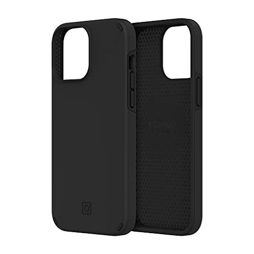 Incipio Duo Hülle Hülle kompatibel mit Apple iPhone 13 Pro Max [3,6m sturzfest I MagSafe und Qi Wireless Charging kompatibel I Extrem robuste Handyhülle I Stoßabsorbierendes Hülle I Hybrid] schwarz