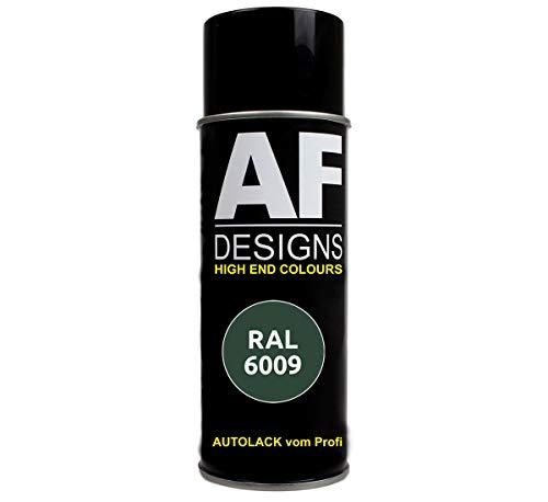 Alex Flittner Designs RAL Lackspray Autolack Sprühdose Spraydose RAL6009 TANNENGRUEN seidenmatt
