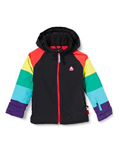 Burton Mädchen Snowboard Jacke Hart, True Black/Rainbow, XL, 11570103002