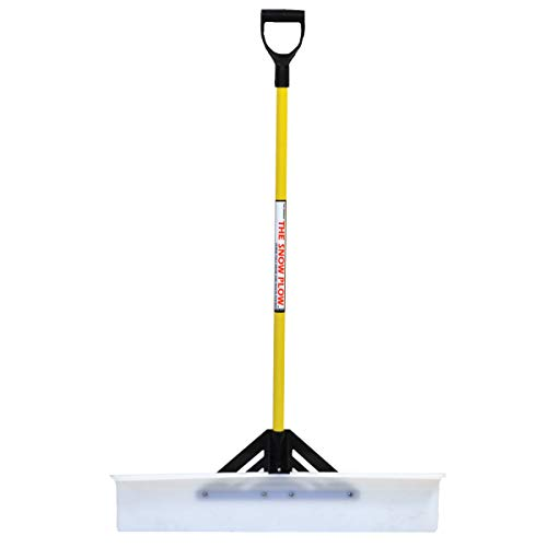 The Snow Plow 36' Pusher Shovel 50536 for Commercial and Residential Walkways