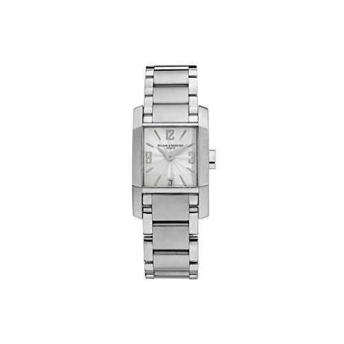 Baume&Mercier Reloj Analógico para Mujer de Cuarzo con Correa en Acero Inoxidable M0A08568