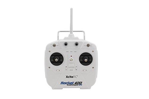 XciteRC 15001710 - Ferngesteuerter RC Quadrocopter Drohne Rocket 400 GPS - RTF Version III mit HD-Kamera Mode 1