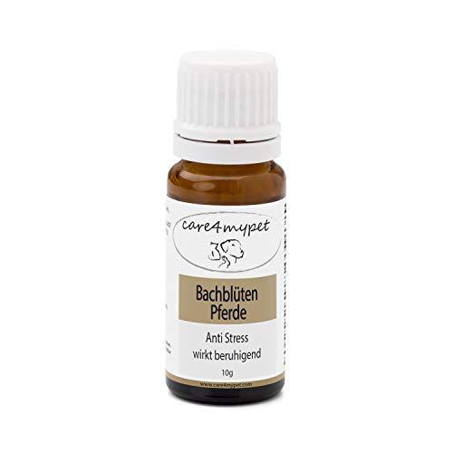 Care4mypet Bachblüten Globuli. Speziell für Pferde in Grösse 6. Anti-Stress kann Sich positiv auf Negative Gemütszustände auswirken.