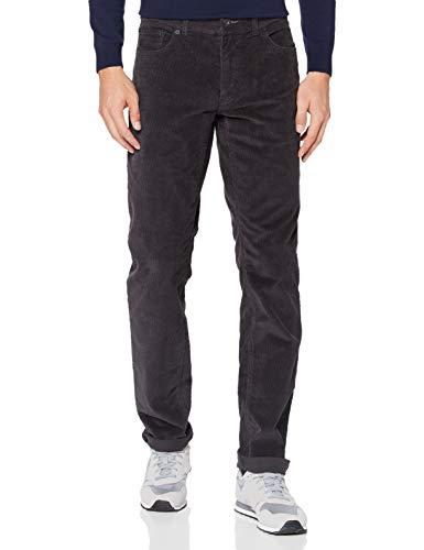 BRAX Herren Style Cooper Fancy Five-Pocket Cord-Qualität Hose, Asphalt, 29/32