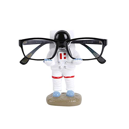YNNG Creative Sunglasses Holder, Astronaut Eyeglass Holder Pen Stand Glasses Display Stand Funny Table Decor Christmas Festival Gift