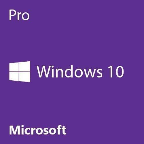 Windows 10 Pro 64 bit OEM | English | Windows 10 Pro OEM License | 1 PC | DVD-Disk