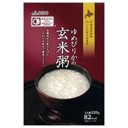 JAふらの ゆめぴりかの玄米粥 220g×30(5×6)袋入