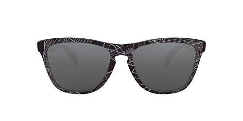 Oakley Unisex-Adult OO9013 Frogskins Sunglasses, Uc NYC Black/Prizm Black, 55 mm