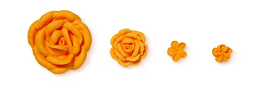 Wilton 4 Piece Left-Handed Decorators Flower Icing Tip Set