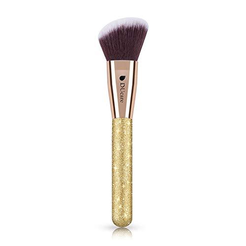 Drametree La Base Principale Oblique Brosse la Brosse Kabuki de Maquillage de Base pour Le Visage Parfait pour mélanger Le Pinceau Facial Professionnel de Maquillage de cosmétiques en Poudre Liquide,