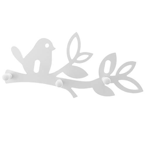 MERIGLARE Gancho de Pared Llavero Gancho Colgante Tornillo Organizador de Aves Talladas