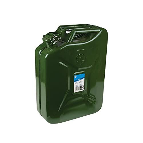 Dapetz Tanica 20Ltr Metallo Resistente Durevole Garage Meccanico Emergenza Campeggio - 5pz