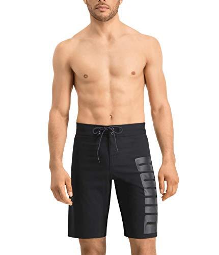 PUMA 10000033200005 Swim Men Long Board Shorts 1P Colour: Black - Size: XS