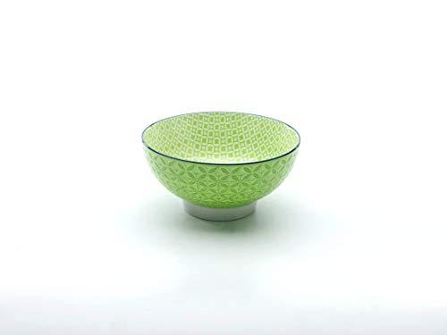 Neu Müslischale Dessertschale Salatschüssel Mediterran | Steinzeug | Grün | Ø 15 cm …