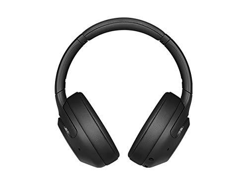 ソニー ワイヤレスノイズキャンセリングヘッドホン WH-XB900N : 重低音モデル / Amazon Alexa搭載 / bluetooth / 最大30時間連続再生 2019年モデル / マイク付き/ブラック WH-XB900N B