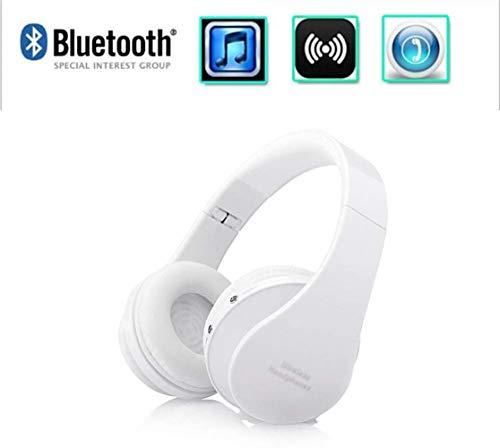 XY-M Super Bass Bluetooth 4.0 Kopfhörer Over-Ear-Stereo-Kopfhörer mit Mikrofon, SD-Kartenspiel, Head-Mounted Bluetooth Kopfhörer für Computer, PC, iPhone, mit Mikrofon Aptx D