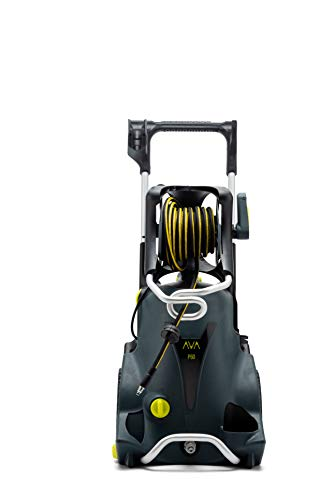 AVA of Norway Master P80 XL Hochdruckreiniger, 160bar, 600l/h, 2800W, Schlauchtrommel, Zoomlanze, Hochdruckpistole, Terrassenreiniger, Schaumkanone, Foamgun