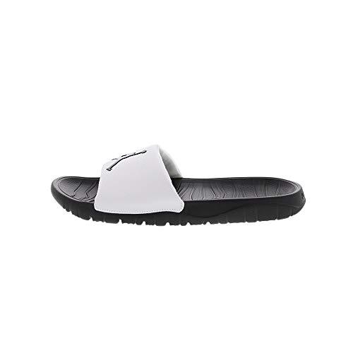 Jordan Herren Break Slide Badeschuhe, Weiß (White AR6374-100), 46 EU
