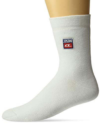 Diesel Herren RAY Legere Socken, weiß, Small