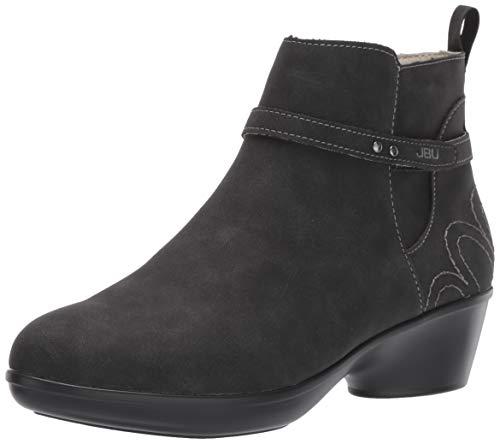JBU by Jambu Women's Nina Ankle Boot, Black, 9 M US