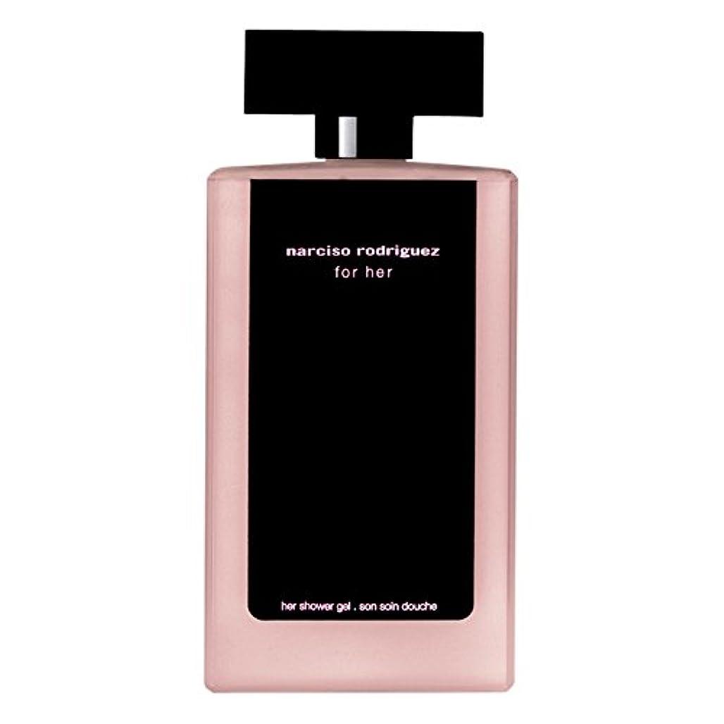 前提条件ハチ観察彼女のシャワージェル200ミリリットルのためのナルシソ?ロドリゲス (Narciso Rodriguez) (x6) - Narciso Rodriguez for Her Shower Gel 200ml (Pack of 6) [並行輸入品]