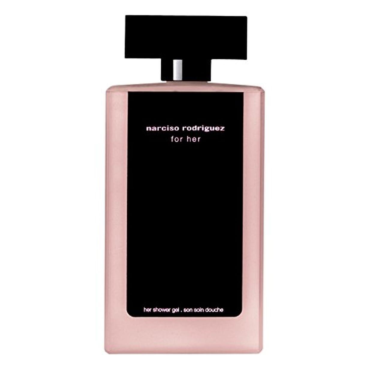 選択するデッド遺棄された彼女のシャワージェル200ミリリットルのためのナルシソ?ロドリゲス (Narciso Rodriguez) (x2) - Narciso Rodriguez for Her Shower Gel 200ml (Pack of 2) [並行輸入品]