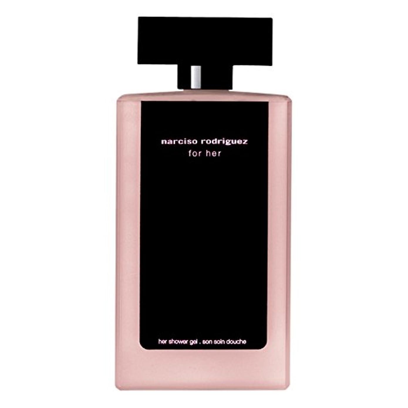 アライメント剥離真っ逆さま彼女のシャワージェル200ミリリットルのためのナルシソ?ロドリゲス (Narciso Rodriguez) (x2) - Narciso Rodriguez for Her Shower Gel 200ml (Pack of 2) [並行輸入品]
