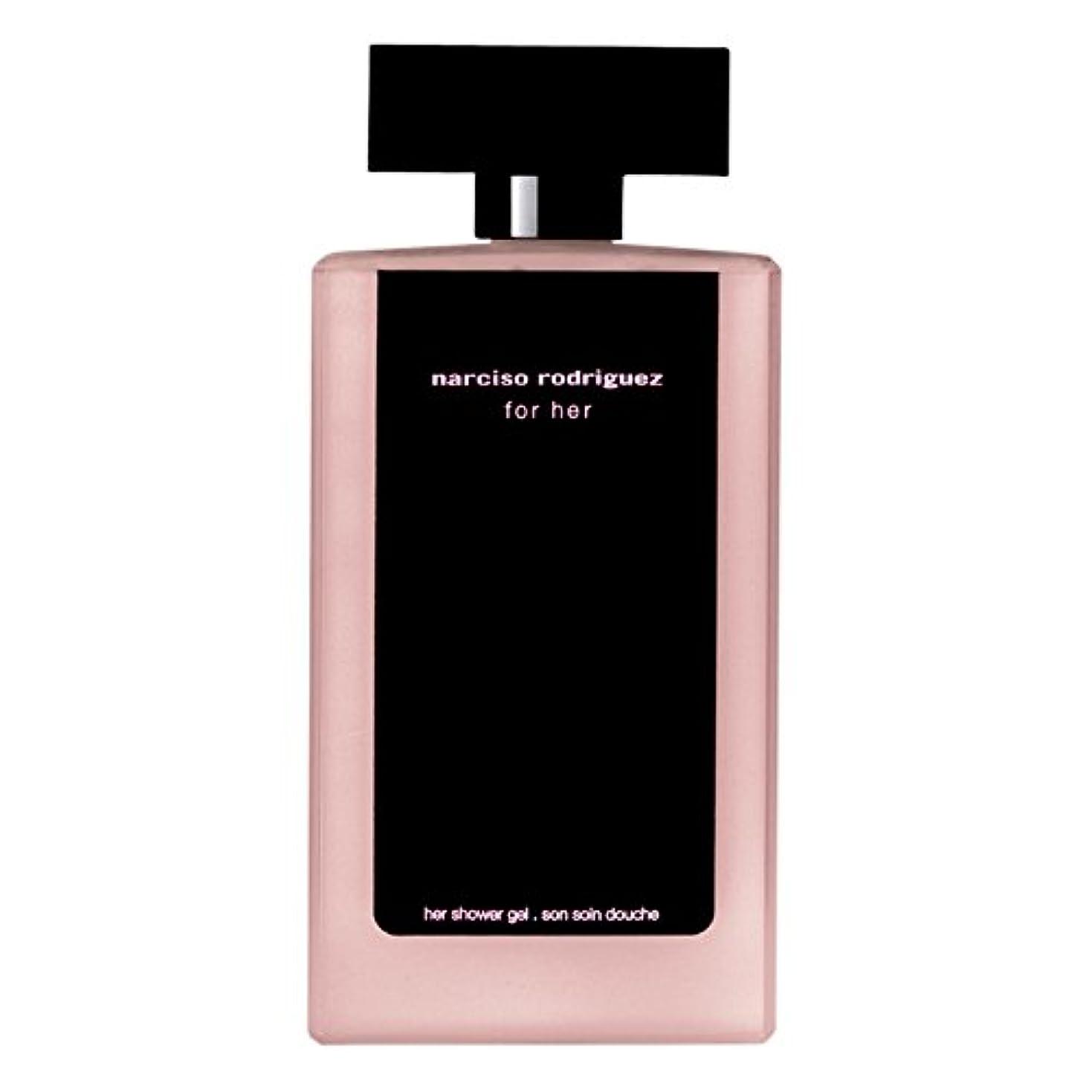 確率爆発するモットー彼女のシャワージェル200ミリリットルのためのナルシソ?ロドリゲス (Narciso Rodriguez) (x2) - Narciso Rodriguez for Her Shower Gel 200ml (Pack of 2) [並行輸入品]