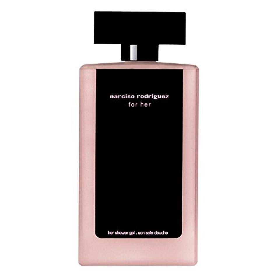 偏見遺棄されたアナロジー彼女のシャワージェル200ミリリットルのためのナルシソ?ロドリゲス (Narciso Rodriguez) (x2) - Narciso Rodriguez for Her Shower Gel 200ml (Pack of 2) [並行輸入品]