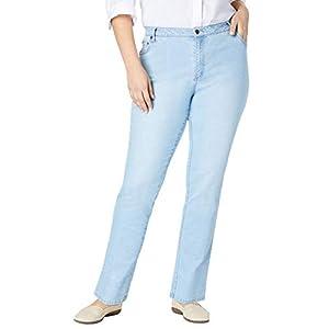 Women's Plus Size Straight Leg Stretch Jean