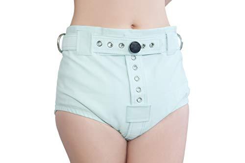 Mintgrüne Unterhosen mit Segufix-Schloss und Schlüssel, die Windel Entfernung unmöglich machen ABDL