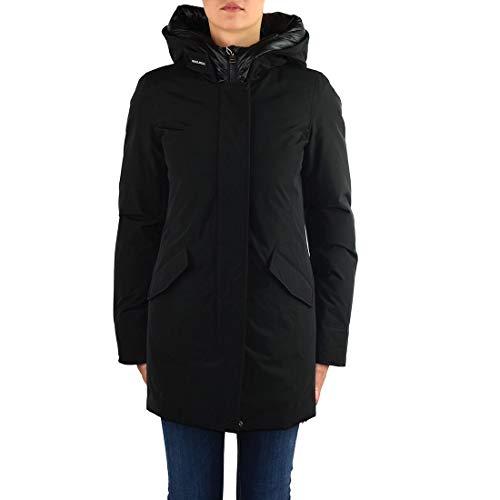 WOOLRICH Luxury Fashion Damen WWCPS2769UT0001BLK Schwarz Baumwolle Steppjacke   Herbst Winter 19