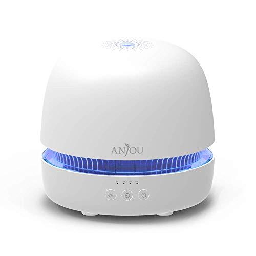 Aroma Diffuser Anjou Diffusor 300ML Ultraschall Luftbefeuchter Duftlampen Humidifier BPA-Free mit patentiertem Ölflusssystem für ätherische öle Raumbefeuchter Kinderzimmer Schlafzimmer Raum Büro Yoga