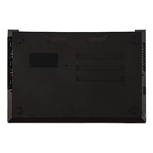 fqparts Cubierta Inferior de la Caja del Ordenador portátil D Shell para Lenovo V110-15AST V110-15IAP V110-15IKB V110-15ISK Color Negro