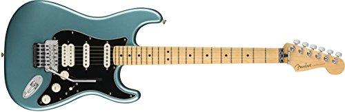 Fender Jugador Stratocaster Guitarra Eléctrica HSS - Floyd Rose - Diapasón de arce - Tidepool
