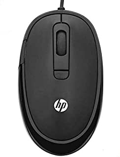 HP FM310 Wired USB Optical Mouse 2400 DPI - Black