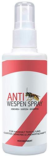 West Nutrition Anti Wespen Spray – hochdosierte Schädlingsbekämpfung – auch für Wespennest, Insektenspray und Ungeziefer geeignet - Wespenspray mit Sofortwirkung – natürlich und giftfrei
