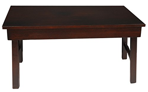Oriental Furniture Rosewood Korean Tea Table