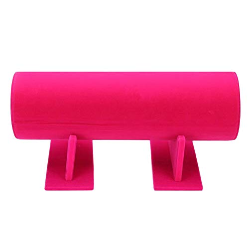 Homeofying Serre-tête en velours style rustique personnalisé rétro campagnard tendance en velours avec pince à cheveux pour montre Rose rouge
