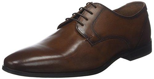 Redskins MERMOZ, Zapatos de Cordones Derby Hombre, Marrón Cognac, 40 EU