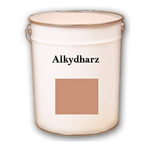 Hauptversand24 2,5 kg RAL 3012 terracotta Fassadenbeschichtung matt Fassadenfarbe Außenfarbe UV-Beständig