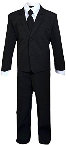 Kids Secert Agent Black Suit Outfit