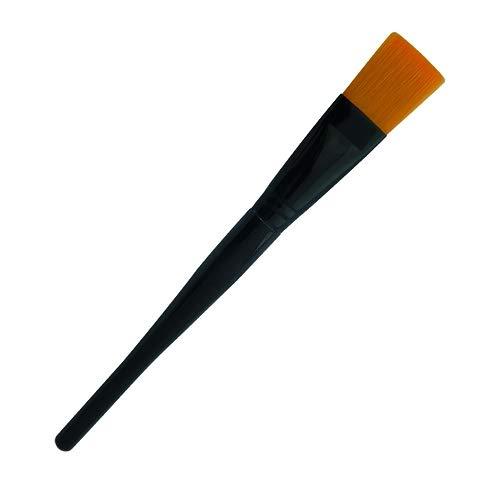 Paraffine penseel/masker kwast voor paraffine behandeling of gezicht behandeling door schoonheidsspecialiste.