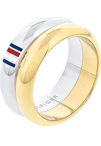 Tommy Hilfiger Damen-Ringe Edelstahl mit '- Ringgröße 54 2701096C