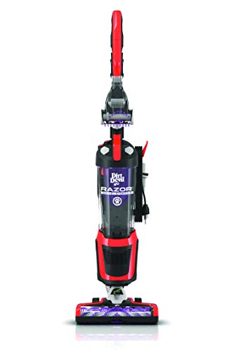 Product Image of the Dirt Devil Razor Pet Bagless Multi Floor Corded Upright Vacuum Cleaner with Swivel Steering, UD70355B, Red